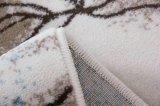 Maschinell hergestellte zeitgenössische Bereichs-Wolldecke