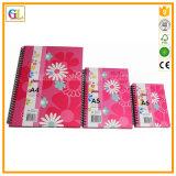 Impresión del cuaderno y del diario, cuaderno espiral A4 A5 A6