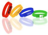 Entraînements faits sur commande en gros de clé de mémoire USB de bande de poignet de bracelet de silicones