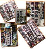 Contre- étalage tournant de Sunglass de lunetterie en métal pour 27 paires
