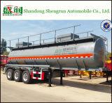 Semi топливозаправщик трейлера для нефти, серного трейлера бака с кислотой