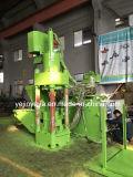 Sbj-315 수직 자동적인 철 금관 악기 알루미늄 연탄 압박 기계