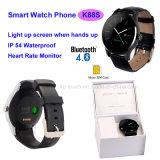 El teléfono elegante más nuevo del reloj de Bluetooth con el monitor del ritmo cardíaco (K88S)