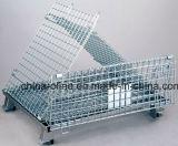 قابل للتراكم يطوى تخزين سلك قفص (1100*1000*890)