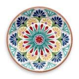 Vastgestelde Multicolored Vaatwerk van het Diner van de Melamine van Eco van de duurzaamheid het Vriendschappelijke