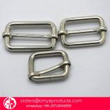 めっきされた鋼鉄金属のスライドのバックルの調節装置