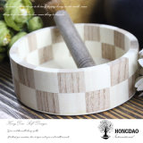 Hete het Verkopen van Hongdao Klantgerichte Ronde Houten Verpakking Box_D