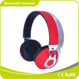 Solución plegable de la calidad de sonido de la manera alta con el receptor de cabeza de Bluetooth del ocio del conjunto de tarjeta del SD
