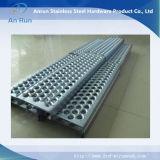 Metallo perforato di alluminio per il piatto antisdrucciolevole
