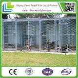 Клетка собаки загородки оптовой большой коробки звена цепи напольная дешевая