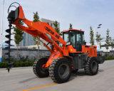 Киец затяжелитель колеса Payloader начала 2 тонн с вспомогательным оборудованием