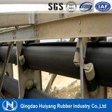Industria del cemento que transporta la cinta transportadora tubular del sistema