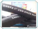 Qualité SAE100 R1at /1sn boyau R2at/2sn en caoutchouc hydraulique de SAE100