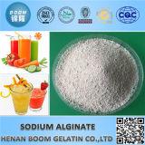 Альгинат натрия порошка пищевых добавок белый