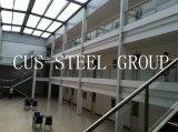 Le boîtier pré ouvrier léger d'acier de construction/a préfabriqué l'atelier de structure métallique
