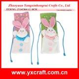Cubierta superior del vino rojo del conejo de Pascua de la decoración de Pascua (ZY15Y302-1-2-3)