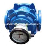 オイルの流れメートル、タービン流量計Dual-Rotor、デュプレックス回転子のメートル開口部版のメートル