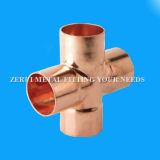 22mm kupfernes Rohr-Kreuzbeschläge für Medcial Gas
