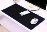 Couvre-tapis piqué de souris de jeu de vitesse de tissu de précision de bords