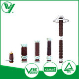 Para líneas de alimentación eléctrica del material de óxido de metal de silicona 33kV El descargador de sobretensión