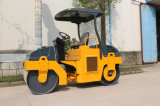 Tamburo idraulico del doppio della trasmissione costipatore della strada da 3 tonnellate (YZC3H)