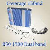 27dBm signaleren Dubbele PCs 850/1900MHz van de Repeater CDMA van het Signaal van de Band Hulp st-Cp27