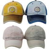 Tecido lavado de algodão remendado Twill Sport Baseball Cap (TMB9239)