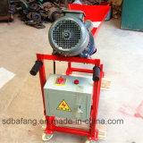 Spruzzo concreto che riempie di malta macchina, pompa automatica della verniciatura a spruzzo