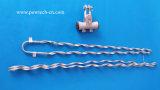 El Conjunto de Suspensión 200m de del Cable ADSS Lapso