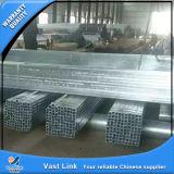 Diplomstahlquadrat galvanisiertes Stahlrohr