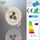세륨 RoHS Approved Low Price 3W Plastic LED Downlight