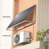 Type climatiseur solaire fixé au mur de plaque plate d'énergie renouvelable