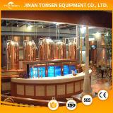 400L 4hl de Apparatuur van het Bier van de Proeffabriek/de MiniApparatuur van het Bier van het Huis/de Rode Brouwerij van het Koper
