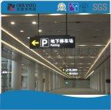 Casella chiara piana di alluminio di parcheggio LED della stazione ferroviaria