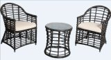 Muebles de mimbre de la rota del PE al aire libre de los muebles