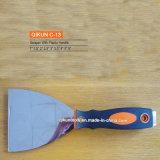 Нож замазки стали углерода деревянной ручки C-22 нормальный Polished