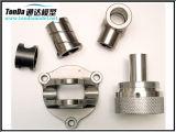Алюминий CNC высокой точности сделанный путем подвергать механической обработке поворачивающ обрабатывать на токарном станке