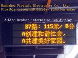 Afficheur LED unique Board (texte de Color Electronic seulement)