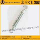 Tipo comercial galvanizado hardware torniquete del aparejo del hierro maleable