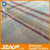 Tessuto tinto filato caldo della flanella di cotone del plaid di vendita per le camice
