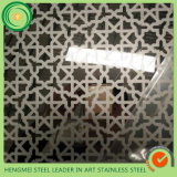 O espelho 201 barato do GV 304 do preço gravou o aço inoxidável para a decoração do painel de parede