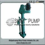 Desgaste resistente do tratamento da água - bomba de depósito vertical centrífuga resistente para o processamento mineral