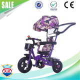 Venta caliente plástica niños de 3 ruedas del triciclo del bebé de bicicletas
