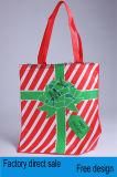 Sac à provisions non-tissé personnalisé de Noël