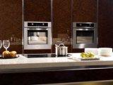 Moderner hoher glatter Lack-Küche-Schrank-Hersteller (zz-067)