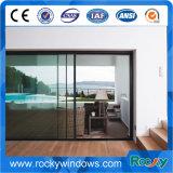 Doble Windows de cristal de la aleación de aluminio y puertas