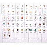 Conceptions en gros de décoration de Noël DIY de bijoux d'alliage d'art d'ongle (D68)
