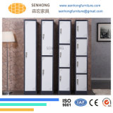 3 أبواب فولاذ معدن خزانة ثوب لأنّ [أفّيس فورنيتثر]
