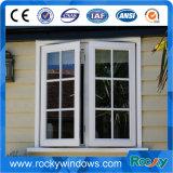 Gewölbte Spitzenaluminiumflügelfenster-Fenstertür