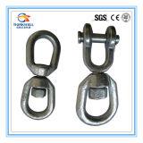 Het gesmede Koolstofstaal galvaniseerde Unidirectionele Geselende Gesp/Ring